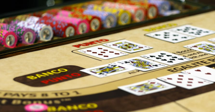 Squeeze Feature in Live Baccarat