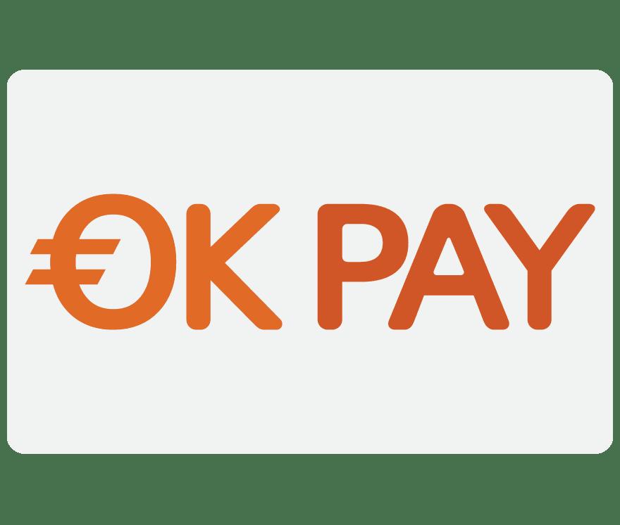 Top 1 OKPay Live Casinos 2021